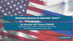 Yale Flag Moscow Washington An Impossible U201creset U201d An Interview With Thomas