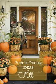 Fun Halloween Decoration Ideas Best 25 Outside Fall Decorations Ideas Only On Pinterest Autumn