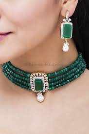 choker necklace stores images S8606 green choker necklace set jpg&a
