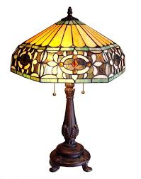 colorful tiffany style table lamp on sale now at victoriandecorshop