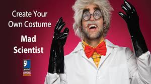 mad scientist halloween diy costume by goodwill home decor expert