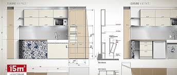 studio cuisine nantes cuisine studio cuisine nantes fresh plan cuisine 12m2 plan
