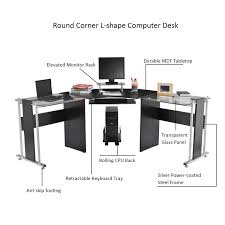 Office Computer Desk Aosom Homcom 61