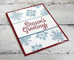 i love sharing easy christmas card making ideas i teach stamping