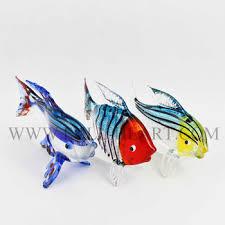 murano glass animal fish figurines home dacoration glass fish