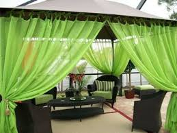 Outdoor Sheer Curtains For Patio Best 25 Gazebo Curtains Ideas On Pinterest Screened Porch