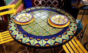 Mexican Patio Furniture Sets - 44 top talavera tile design ideas