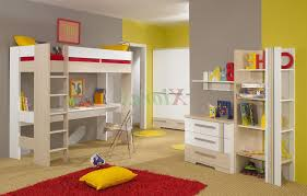 Loft Bed With Desk For Teenagers Furniture Sleep And Study Loft Teenage Bunk Bed With Desk