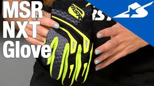 msr motocross boots msr nxt glove review motorcycle superstore youtube