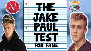 jake test true fan quiz youtube