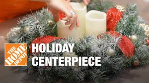 how to make a christmas centerpiece youtube