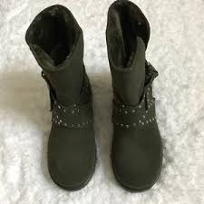 guess boots womens s guess fur boots on poshmark