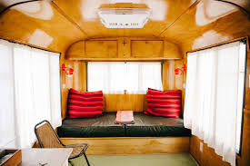Tiny Furniture Trailer by Tiny Vintage Trailer Home In Texas Time To Build