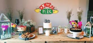 themed bridal shower this friends themed bridal shower is 90s perfection wedded