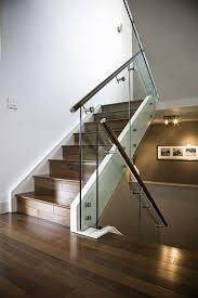 glass and metal stair railing 12 elegance stair railing ideas