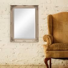 Barock Schlafzimmer Silber Wand Spiegel Im Barock Rahmen Antik Silber Mit Facettenschliff