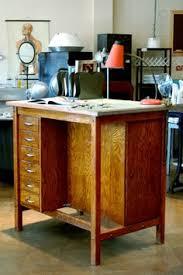 Antique Wood Drafting Table Vintage Industrial Hamilton Art Studio Drafting Table Homestead