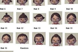 acnl hair color guide animal crossing hairstyles and colors hairstyles wordplaysalon
