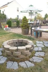 diy fire pit for the backyard u2022 our house now a home