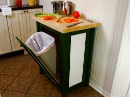 tips customize your kitchen cabinet with tilt out trash bin