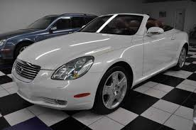 lexus sc430 white for sale 2004 lexus sc430 for sale in pompano beach fl jthfn48y740051173