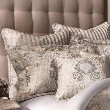 Elegant Comforter Sets Michael Amini Sycamore Grove Bedding King Or Queen Size Luxury