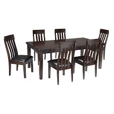 Ashley Dining Room Table And Chairs by Ashley Haddigan 7 Piece Contemporary D Furniture And Mattress Outlet