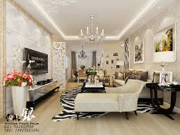 Living Room Decor Styles Exquisite Living Room Damask Cream Wallpaper Silver Pinstripe