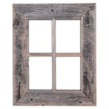 rustic window barnwood frames not for pictures