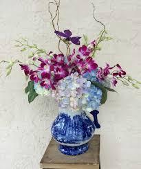 orchid blue delft
