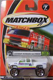 matchbox chevy silverado 1999 sf0498 model details matchbox university