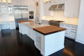 enticing kitchen countertop material improving interior beauty