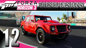 off road lamborghini forza horizon 3 gameplay ep12 lamborghini lm 002 u0026 off road