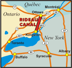 location canap rideau canal how to get here