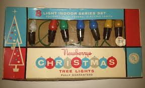 1960 s christmas tree lights vintage christmas newberrys christmas tree lights 1960s great mid