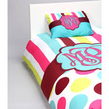 n dots personalized toddler bedding set
