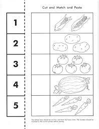 vegetable counting worksheet pomoce dydaktyczne pinterest