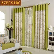 coudre des rideaux de cuisine moderne pastorale de luxe couture printied coton rideaux pour