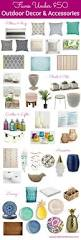 faves under 50 outdoor decor and accessories hello little home