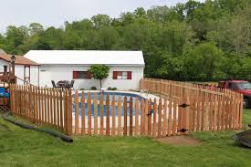 strauss fence company new concord ohio swimming pool fence