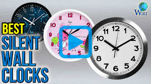 Silent Wall Clock Top 10 Silent Wall Clocks Of 2017 Video Review