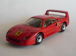 limousine ferrari amazon com matchbox ferrari f40 red mb 24 boxed toys u0026 games
