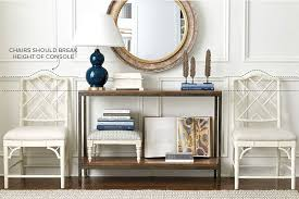 Console Bookshelves by How To Style Console And Coffee Tables How To Decorate