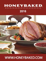 picture of honey baked ham catalog from the honeybaked ham company
