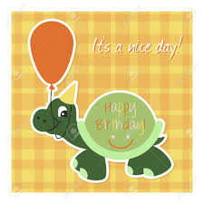 happy birthday turtle images