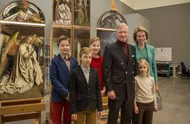 royal family of belgium visited ghent arts museum new my