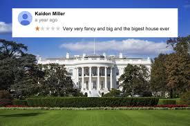 Weird House 10 Really Weird Internet Reviews Of The White House Collegehumor