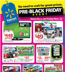 when is black friday ps4 walmart pre black friday sale has select xbox one and ps4 games