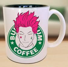 bungie gum nen hisoka anime character geek coffee mug gift