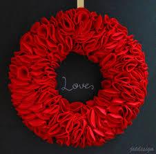 diy felt wreath jst design christmas pinterest wreaths